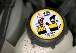Know your coolant cap and know your fluid flush and exchange schedule