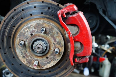 Worn out & corroded brakes mean it's time for brake repair