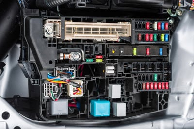 A car's electrical system